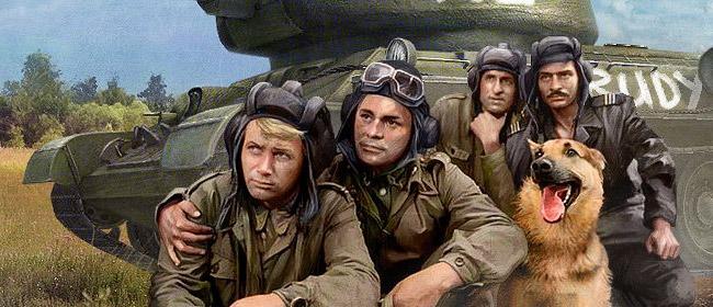 Сериал четыре танкиста и собака