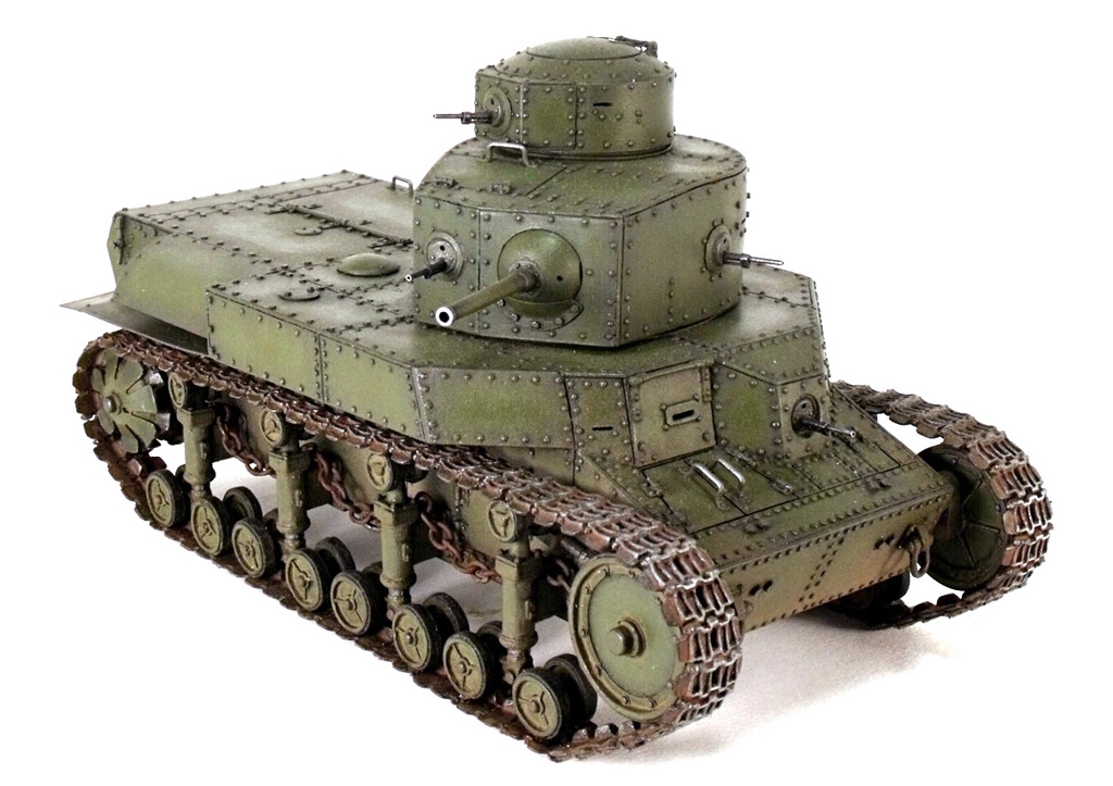 Модель танка Т-24 | Panzer Journal